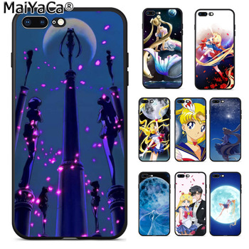 MaiYaCa Beautiful Sailor Moon Coque Popular Cell Phone Case Cover for iPhone 8 7 6 6S Plus 5 5S SE XR X XS MAX Coque Shell 7610