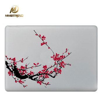 Mimiatrend Kırmızı Erik Laptop Decal Sticker Apple Macbook Air Pro Için Retina 11 13 15.4 inç Kapak Sticker Mac Kılıf Kapak Cilt 4454