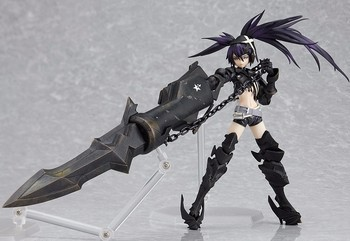 Siyah Rockshooter Action Figure Figma SP041 INSANE BLACK ROCK SHOOTER 150mm Anime Shooter Mato Kuroi Koleksiyon Model Oyuncak 1141